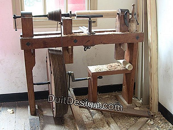 The wood lathe: choose it, buy it and use it well