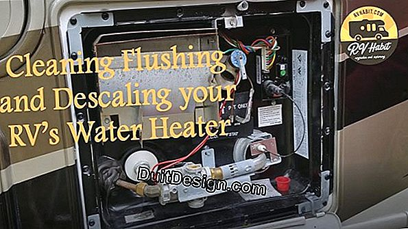 Descaling a water heater