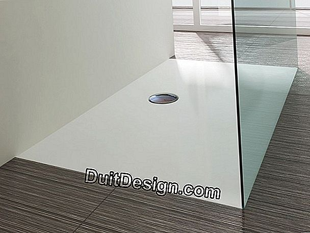 The shapes of shower trays