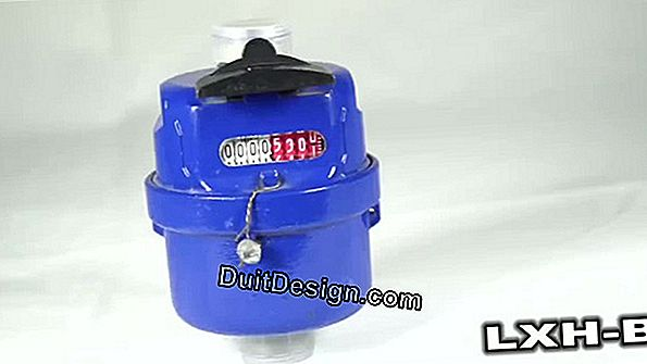 The volumetric water meter