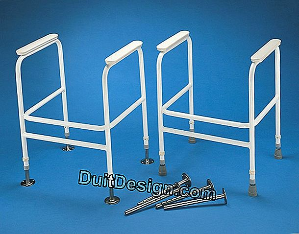 Dressing of the toilet support frame