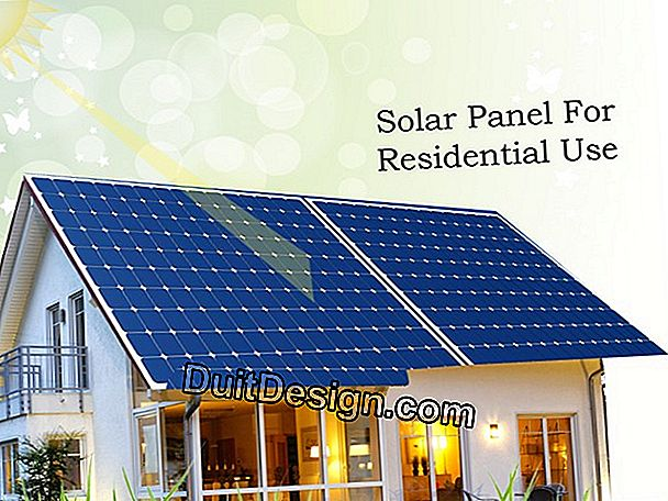 The uses of the solar thermal panel