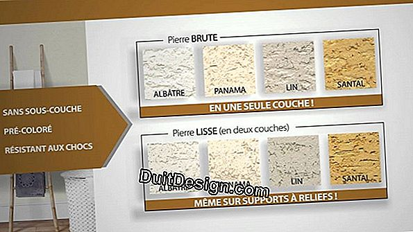 Toupret decorative plaster: A decoration of warm tradition