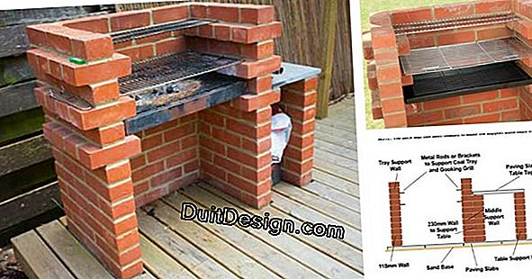 Make a brick barbecue