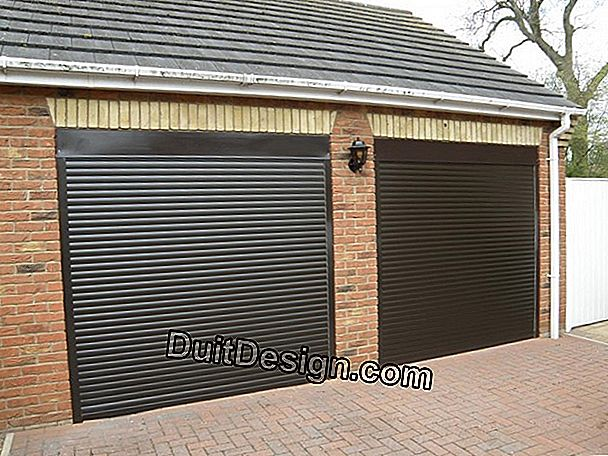 Electric roller shutter for new and renovation