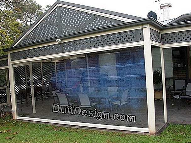 Shutter for glass roofs and verandas in new and renovation