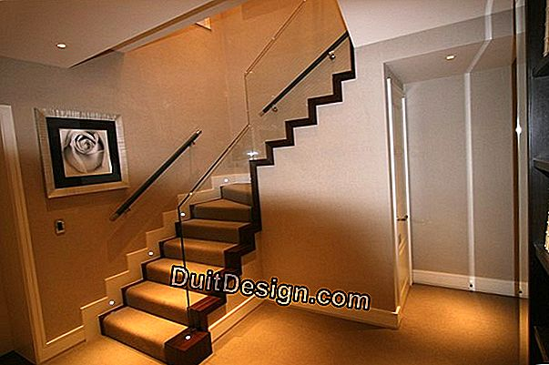 Making a comfortable straight staircase: the constraints to be respected