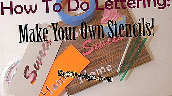 How to make a free stencil