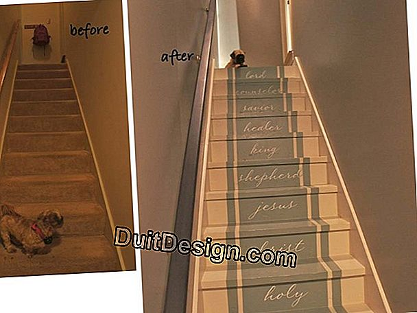 Painting a staircase without condemning