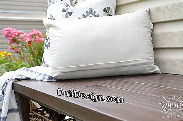 Tutorial: How to make a rustic solid wood bench
