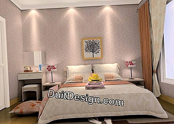 Develop and optimize a master bedroom