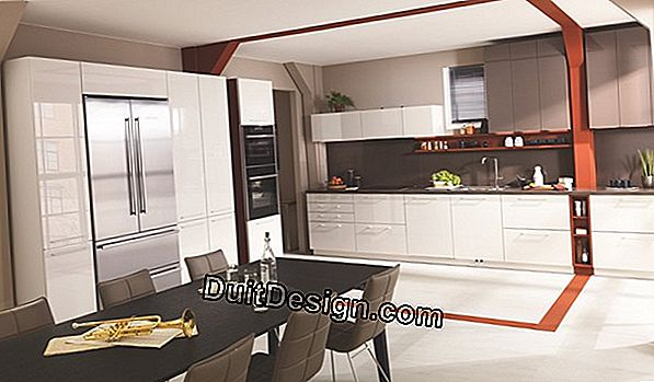 Lacquered kitchen by Cuisinella