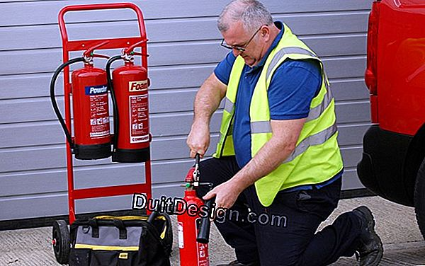 Fire extinguisher, cheap and effective