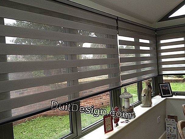 Our selection of the most beautiful interior blinds # Photo 1/6