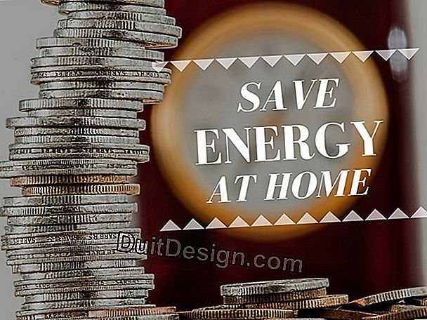 How to save energy in a home?