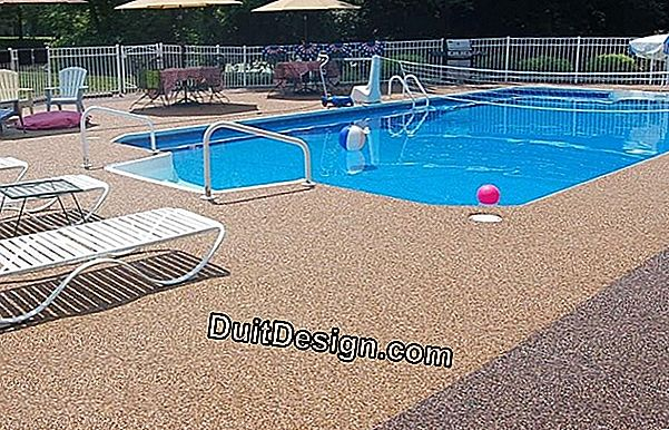 Which coating to choose for the pool area?
