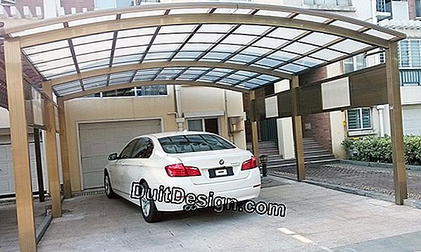 Carport in aluminum