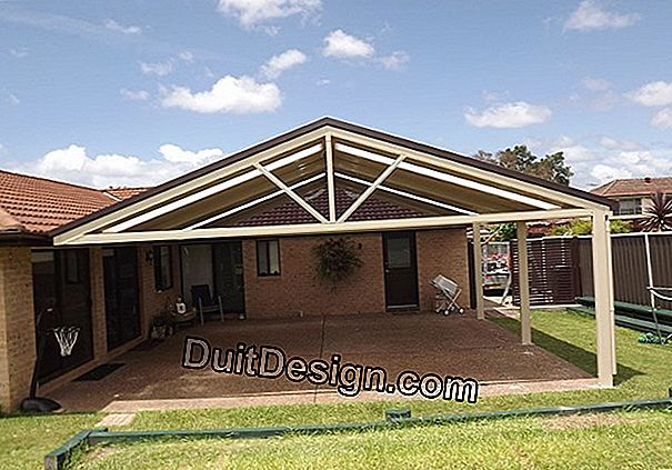 Carport tailor-made to customized dimensions