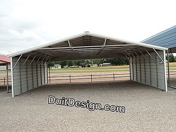 How to transform a carport?
