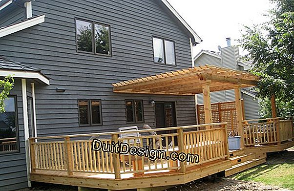 Renovation of a pergola