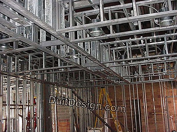 Make a plasterboard partition: assembly of the framework