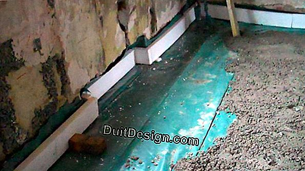 What insulation for a concrete floor slab?