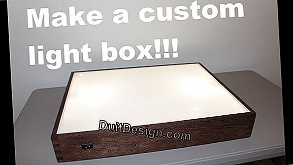 Make a lighting box
