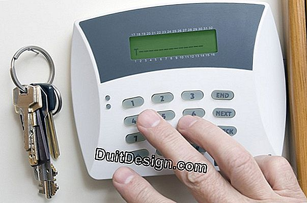 Domestic alarms, the latest innovations.
