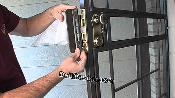 Armored door for a secure house