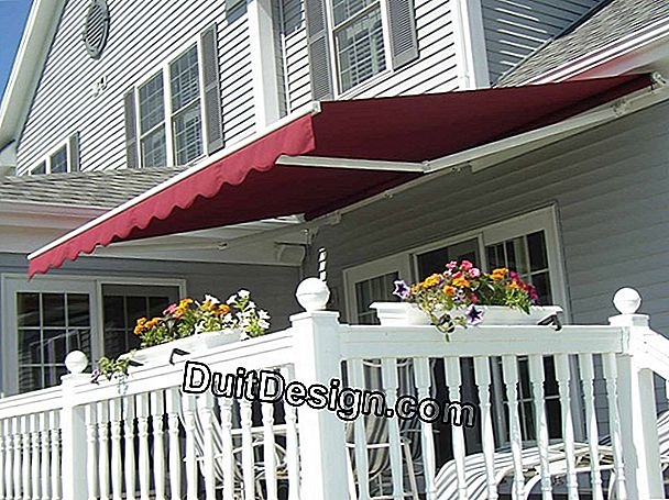 Choose an awning.