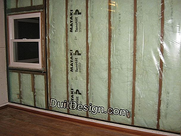 Insulation from the outside thanks to a double wall