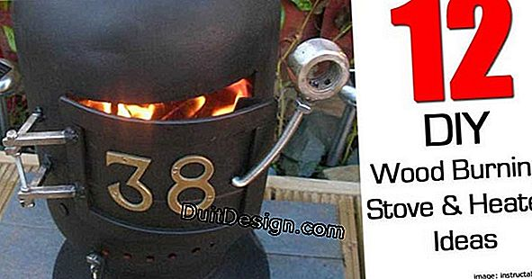 Oil stove, attention danger!