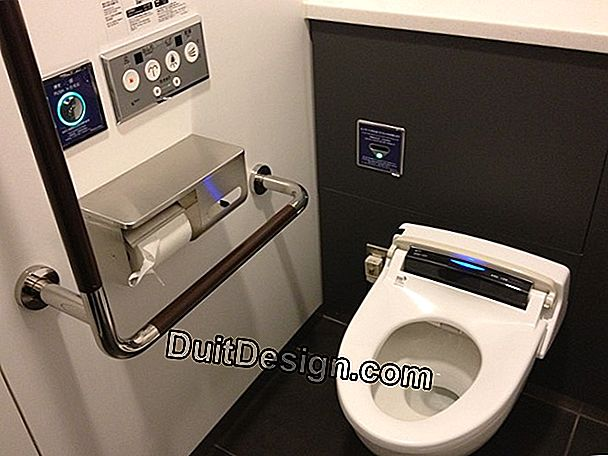 Japanese toilet, technology in the toilet