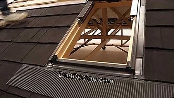 Install a roof window (Velux)