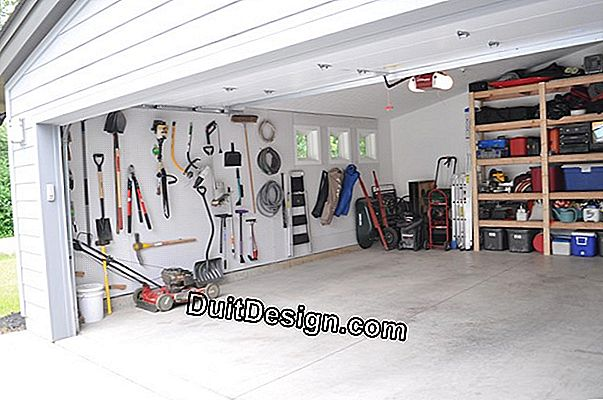 Isolate a garage door