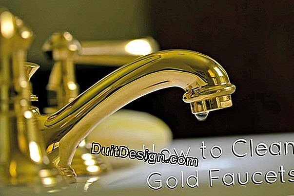 Maintain the foamers of faucets