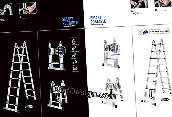 Ladders, telescopic ladders and multi-position platforms CENTAURE