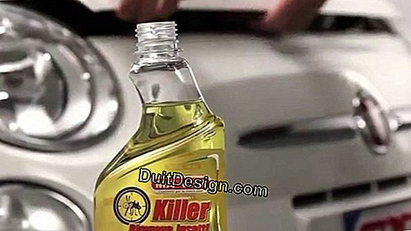 How to remove resin from a car