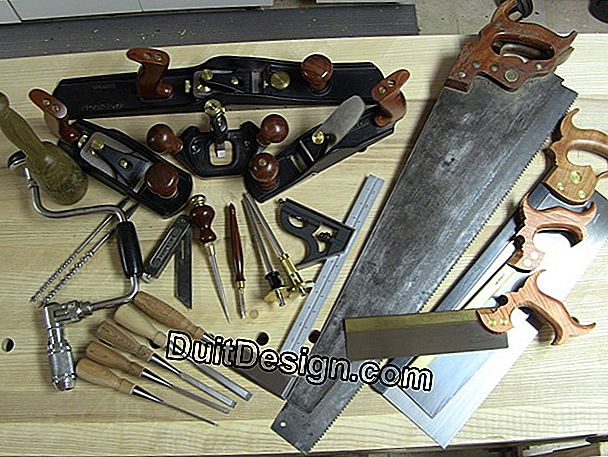 Tools for kit furniture