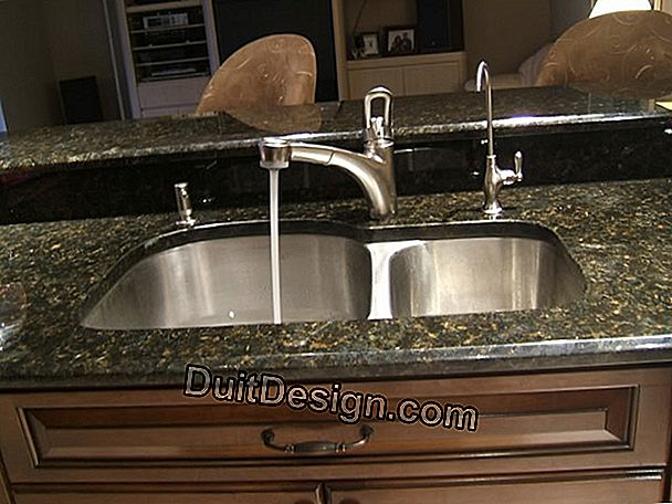Install a built-in sink