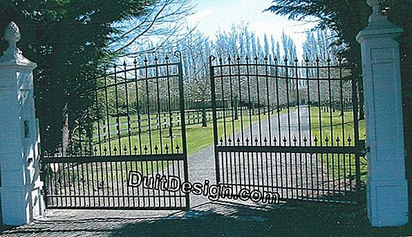Gates, fences... equipment to secure your home