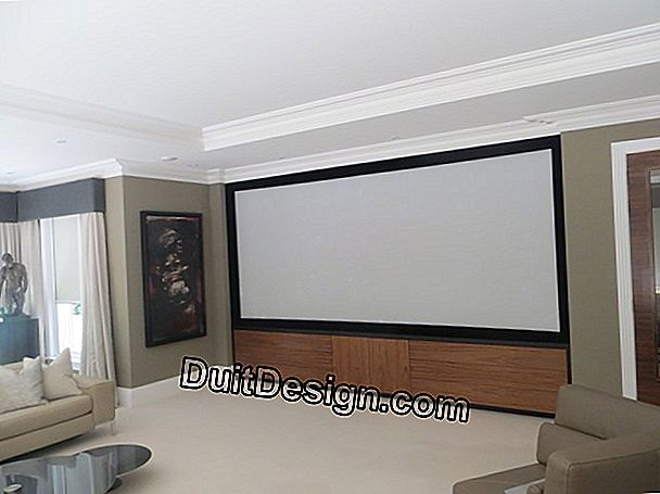 Have a mobile cinema at home