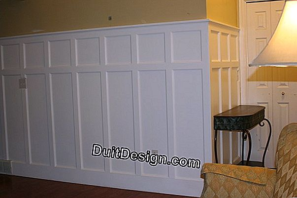 How to install PVC paneling vertically