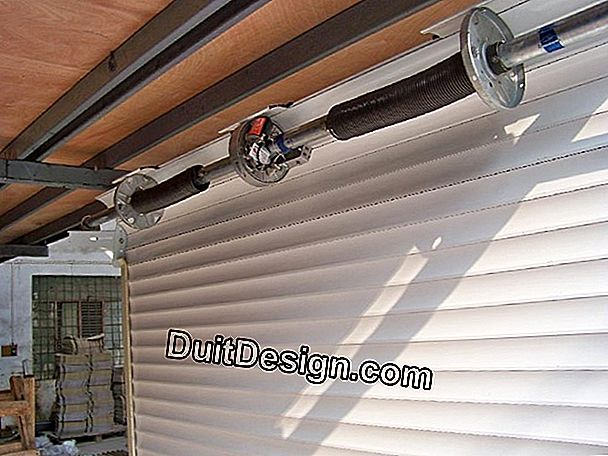 How to install a power roller shutter