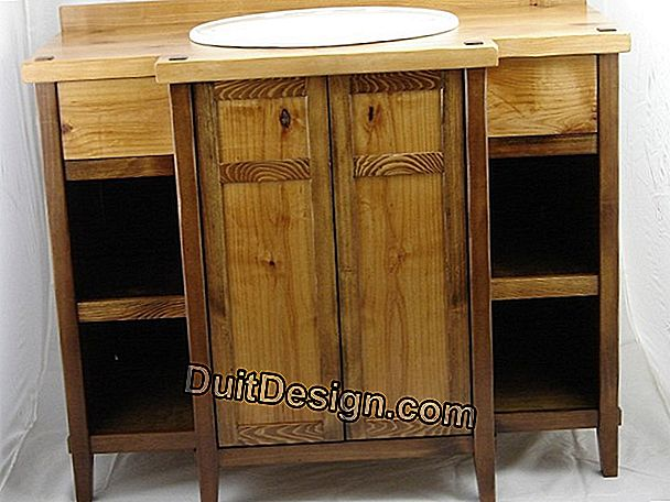 How to make a custom vanity unit?