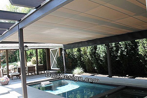 A removable shelter for above ground pool