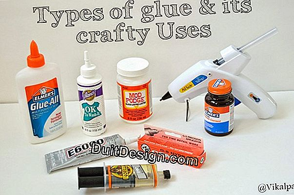Which glue to use for which material and for which purpose?