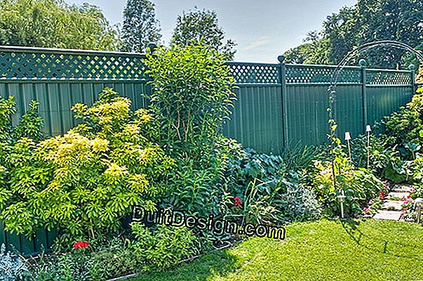 Choosing the fence of your garden