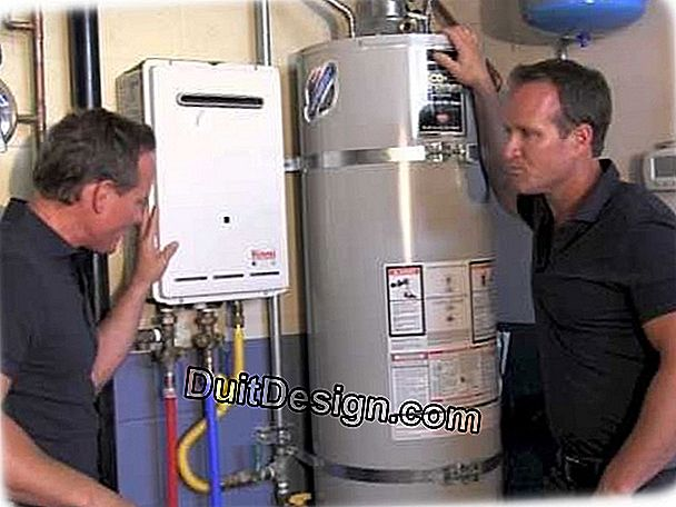 Choose a water heater according to its housing