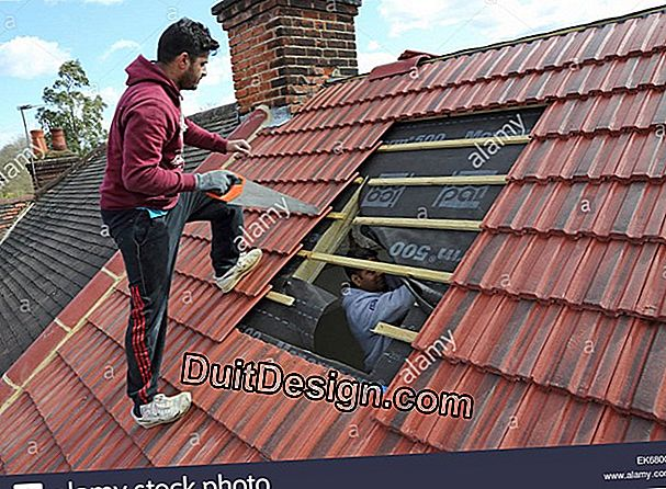 Install a roof window